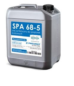 Modernistyczne SPA 68 - olej do sprężarek śrubowych SPA 68 SE79