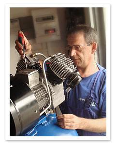 Serwis kompresorów śrubowych i tłokowych
