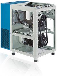 Kompresor śrubowy standardowy RENNER Seria RS 3 - RS 55