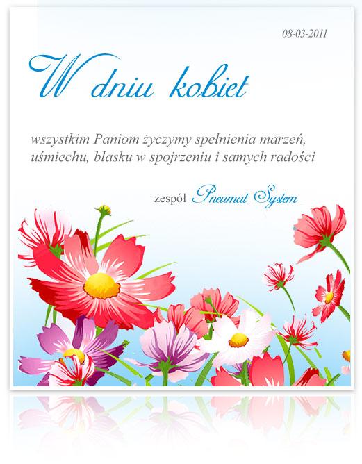 Życzenia z okazji Dnia Kobiet 2011
