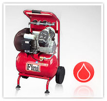 Kompresory tłokowe FINI z napędem bezpośrednim / olejowe serii BIG PIONNER
