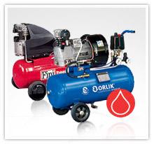 Kompresory tłokowe olejowe