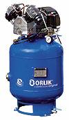 Kompresor ORLIK na zbiorniku pionowym